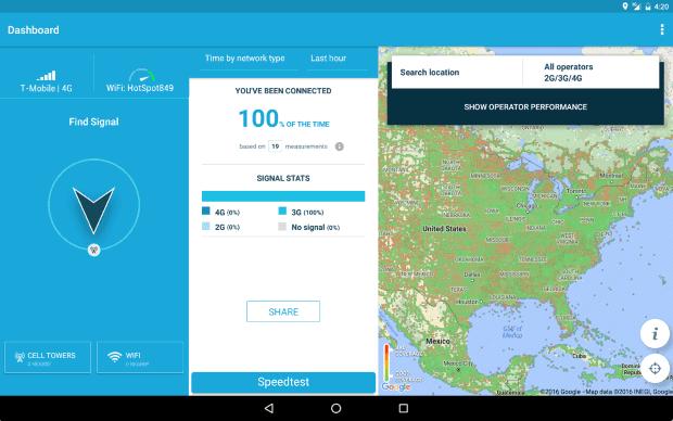 WifiMapper OpenSignal